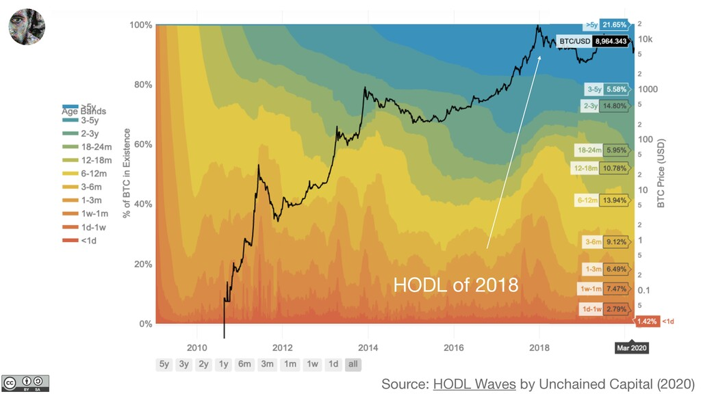 Source: HODL Waves by Unchained Capital (2020) ...