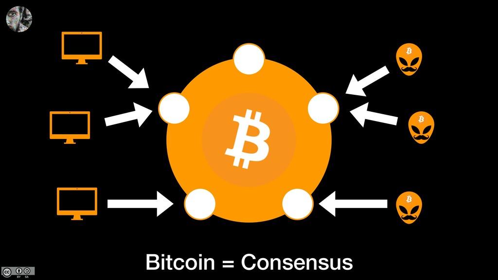 Bitcoin = Consensus