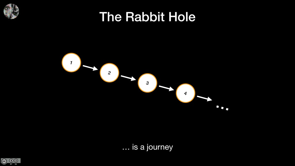 The Rabbit Hole … is a journey 2 4 3 1 …