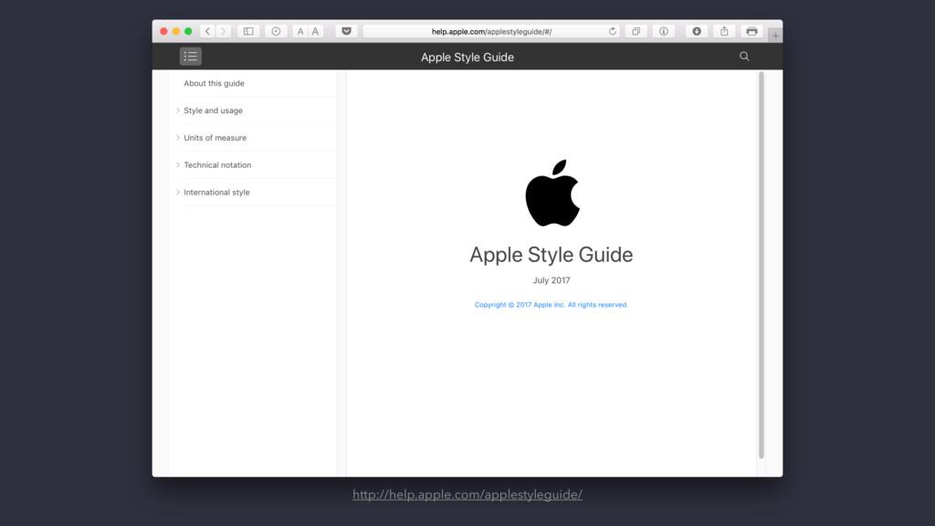 http://help.apple.com/applestyleguide/