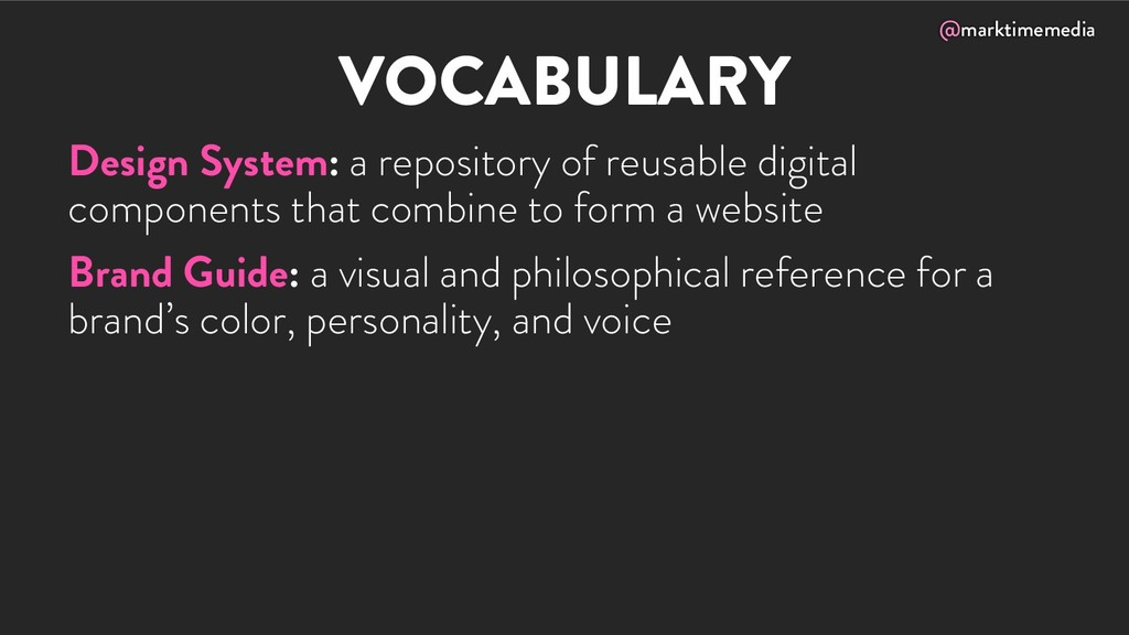 @marktimemedia VOCABULARY Design System: a repo...