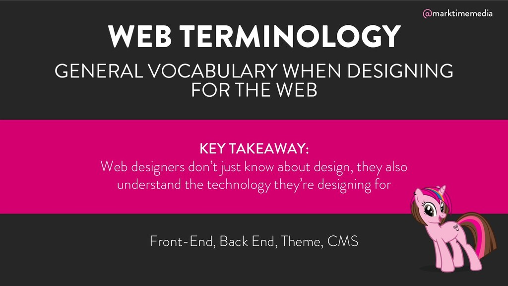 @marktimemedia WEB TERMINOLOGY GENERAL VOCABULA...