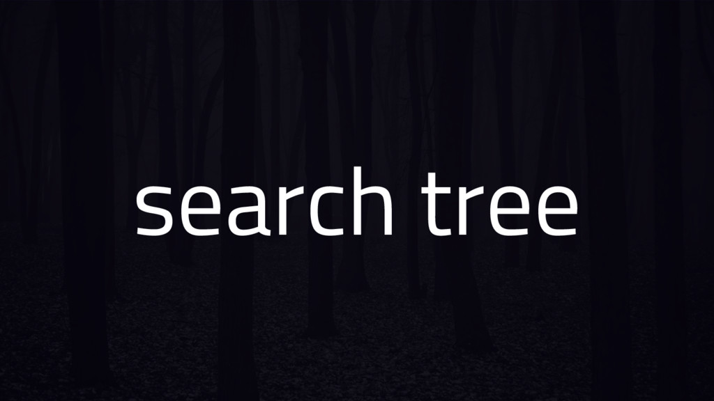search tree