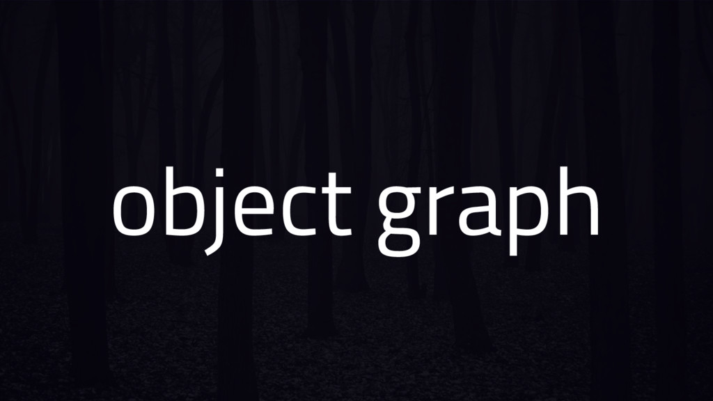 object graph