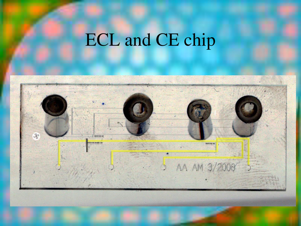 ECL and CE chip