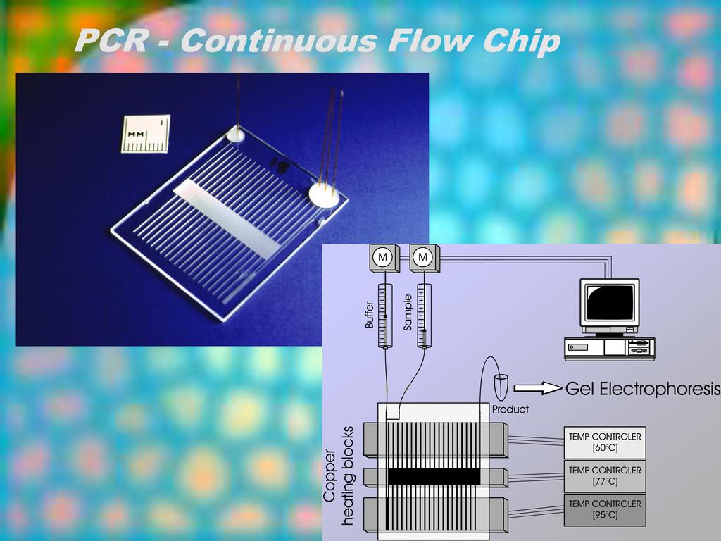 PCR - Continuous Flow Chip