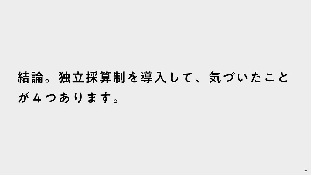 54 ݁ɻಠཱ࠾੍Λಋೖͯ͠ɺؾ͍ͮͨ͜ͱ ͕̐ͭ͋Γ·͢ɻ
