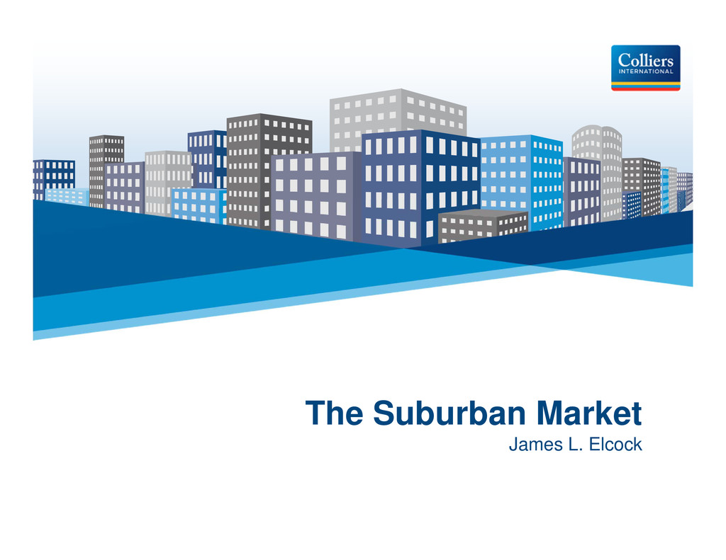 Click to edit Master title style The Suburban M...