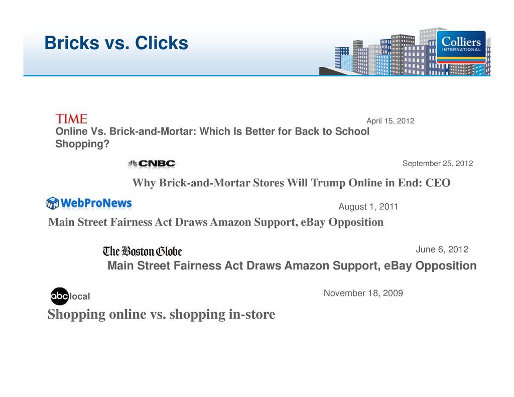 Click to edit Master title style Bricks vs. Cli...