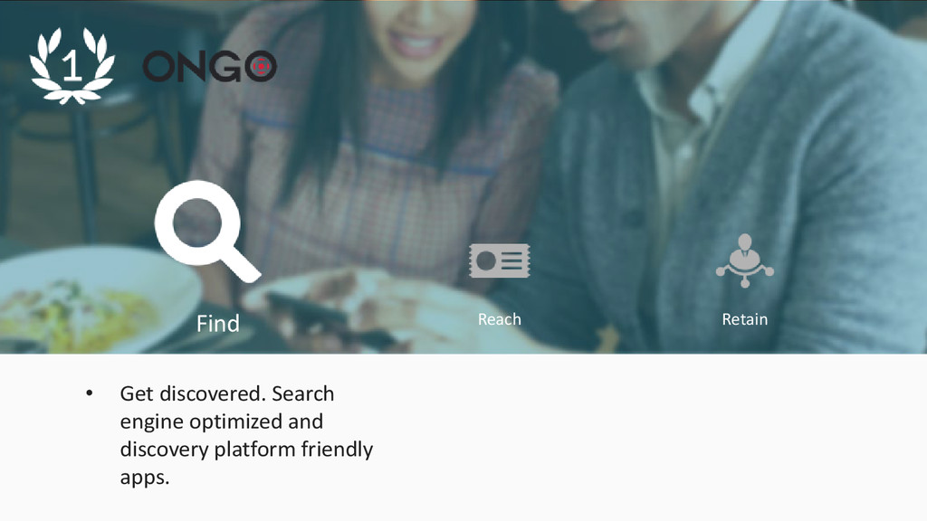 Find Reach Retain • Get discovered. Search engi...