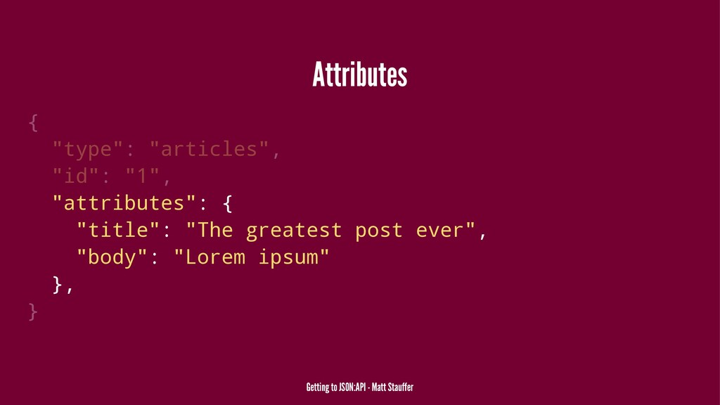"Attributes { ""type"": ""articles"", ""id"": ""1"", ""at..."