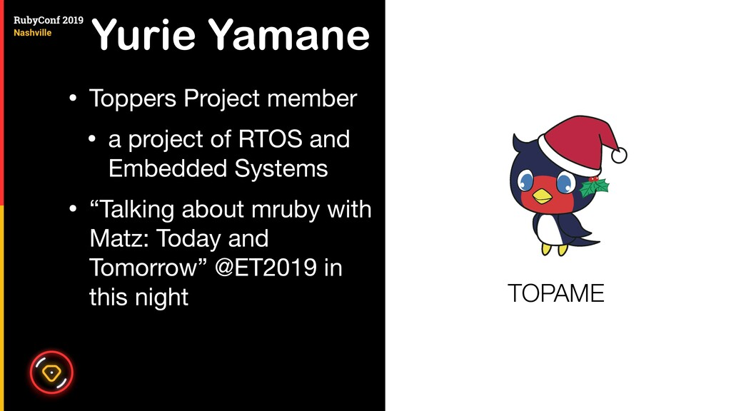 Yurie Yamane • Toppers Project member  • a proj...