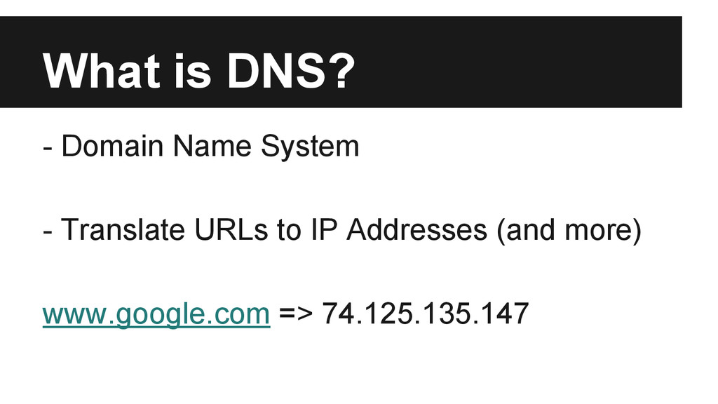 What is DNS? - Domain Name System - Translate U...