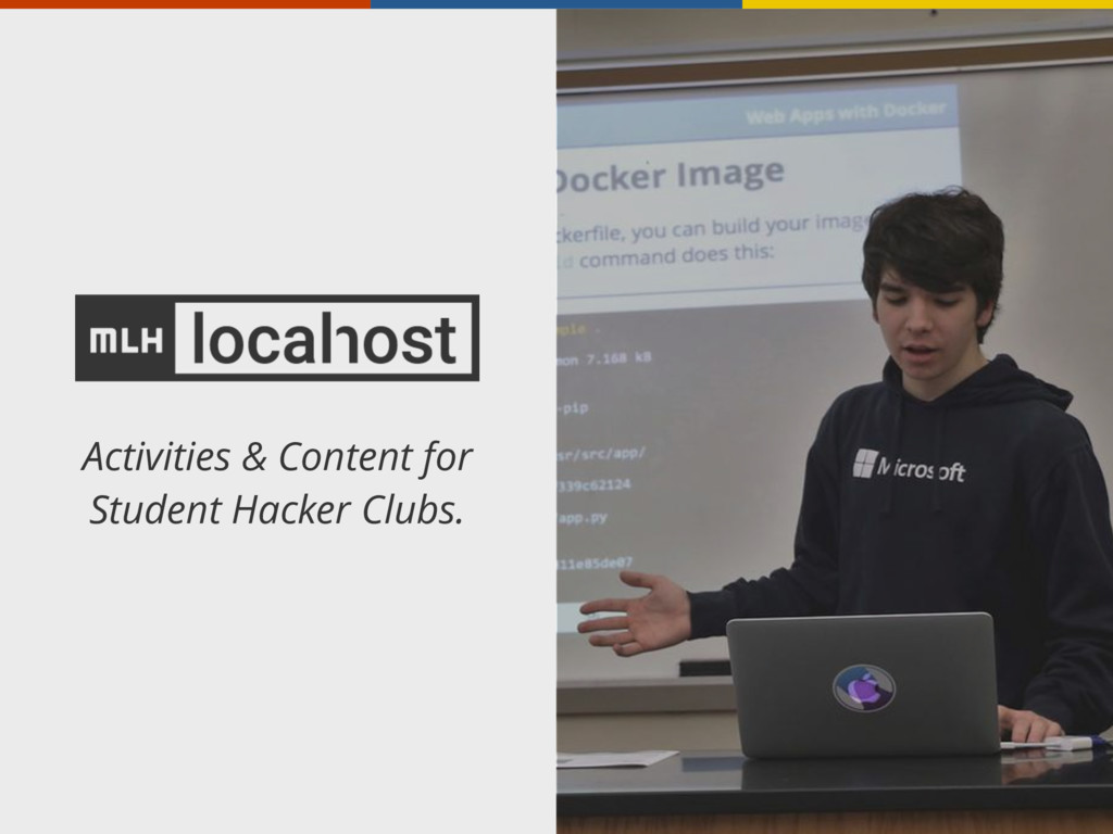 Activities & Content for Student Hacker Clubs.
