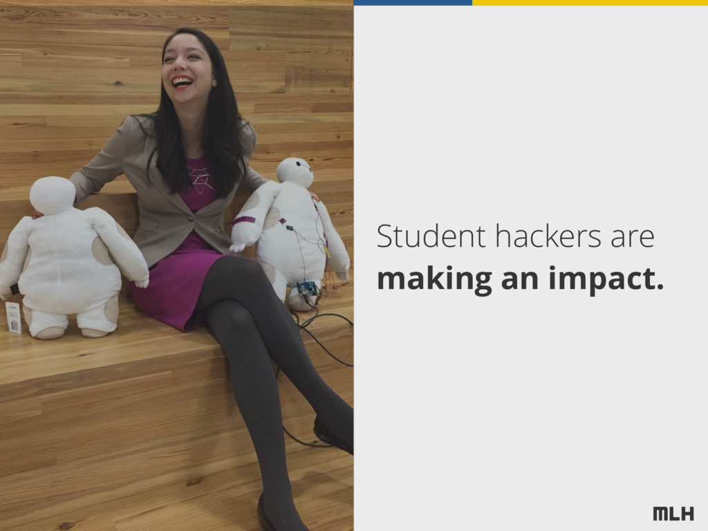 Student hackers are making an impact.