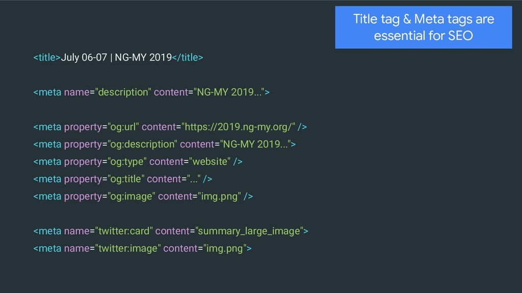 <title>July 06-07 | NG-MY 2019</title> <meta na...
