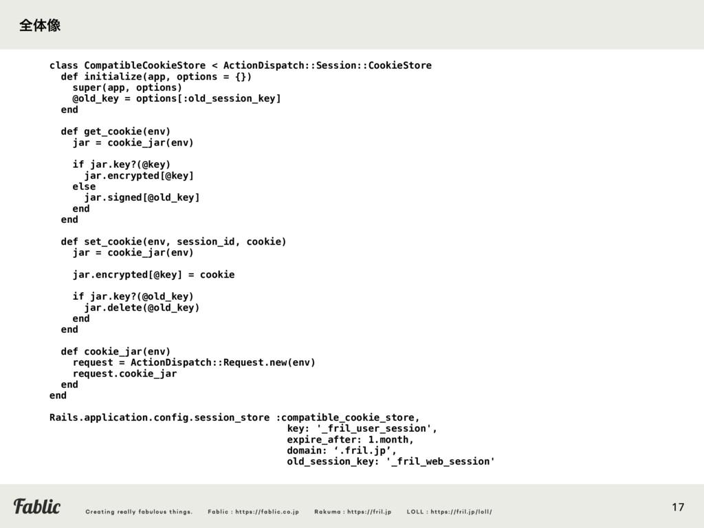 17 class CompatibleCookieStore < ActionDispatch...
