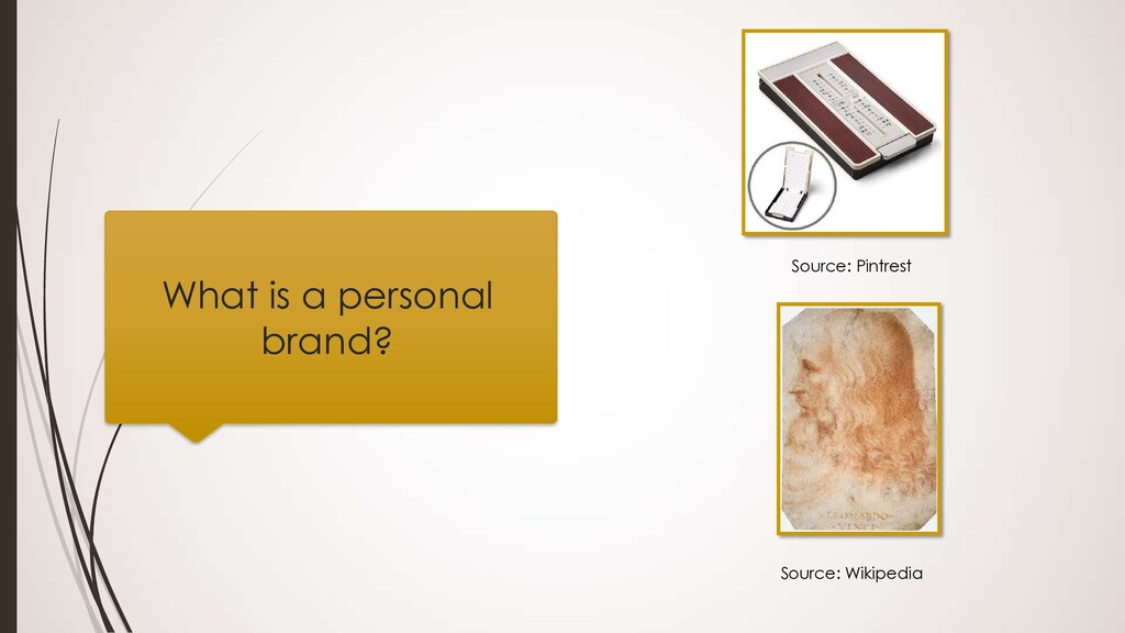 What is a personal brand? Source: Pintrest Sour...