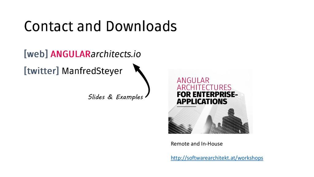 @ManfredSteyer d Slides & Examples Remote and I...