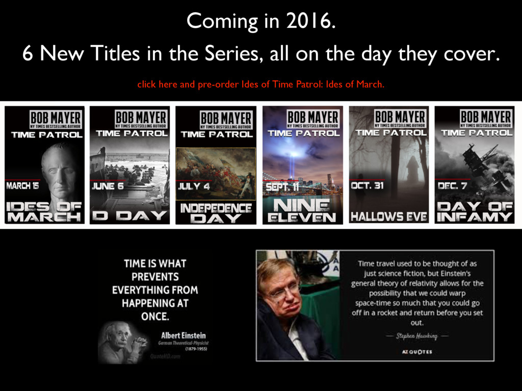Coming in 2016. 6 New Titles in the Series, all...