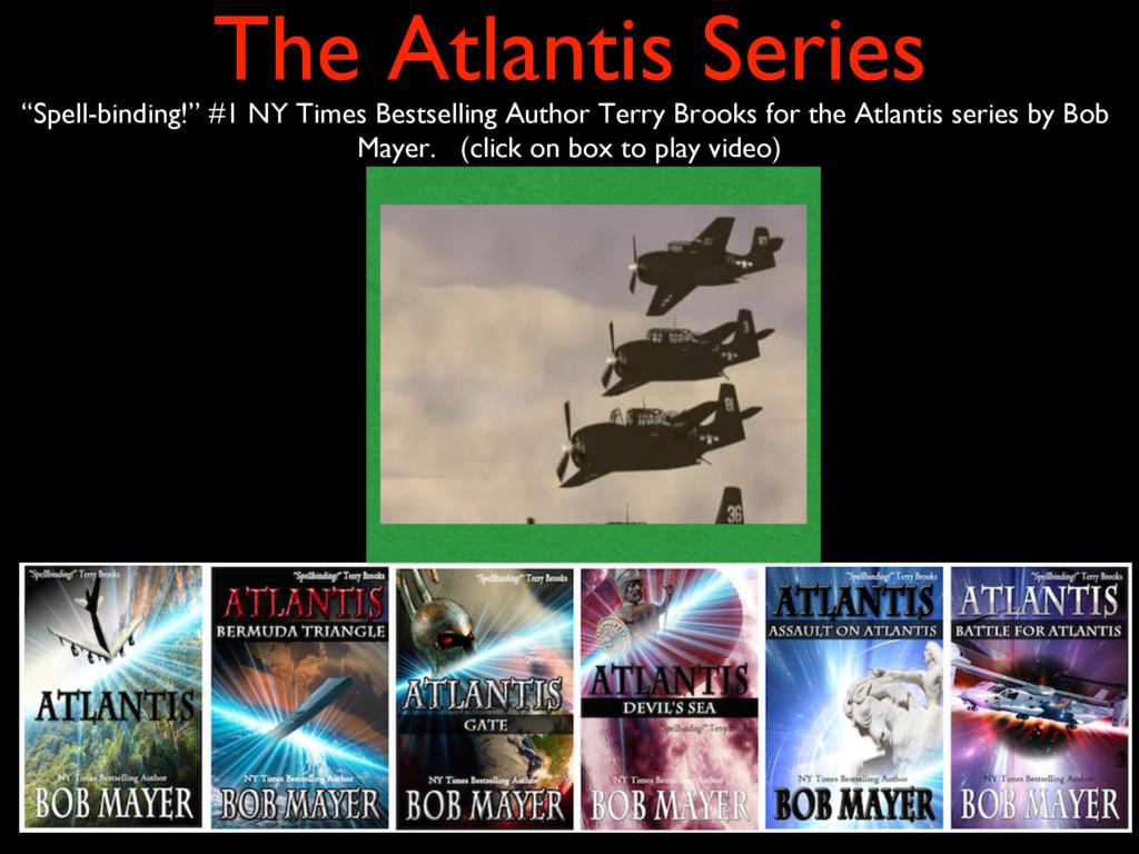 "The Atlantis Series ""Spell-binding!"" #1 NY Time..."