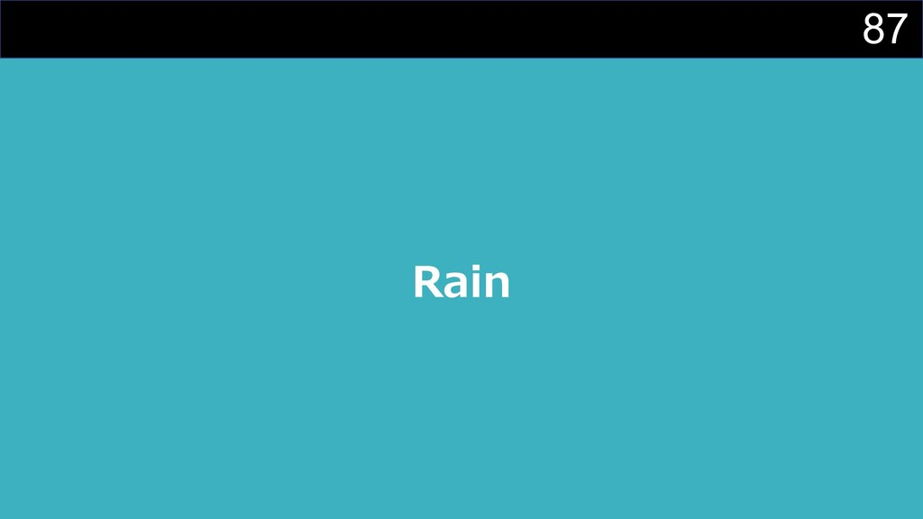 87 Rain