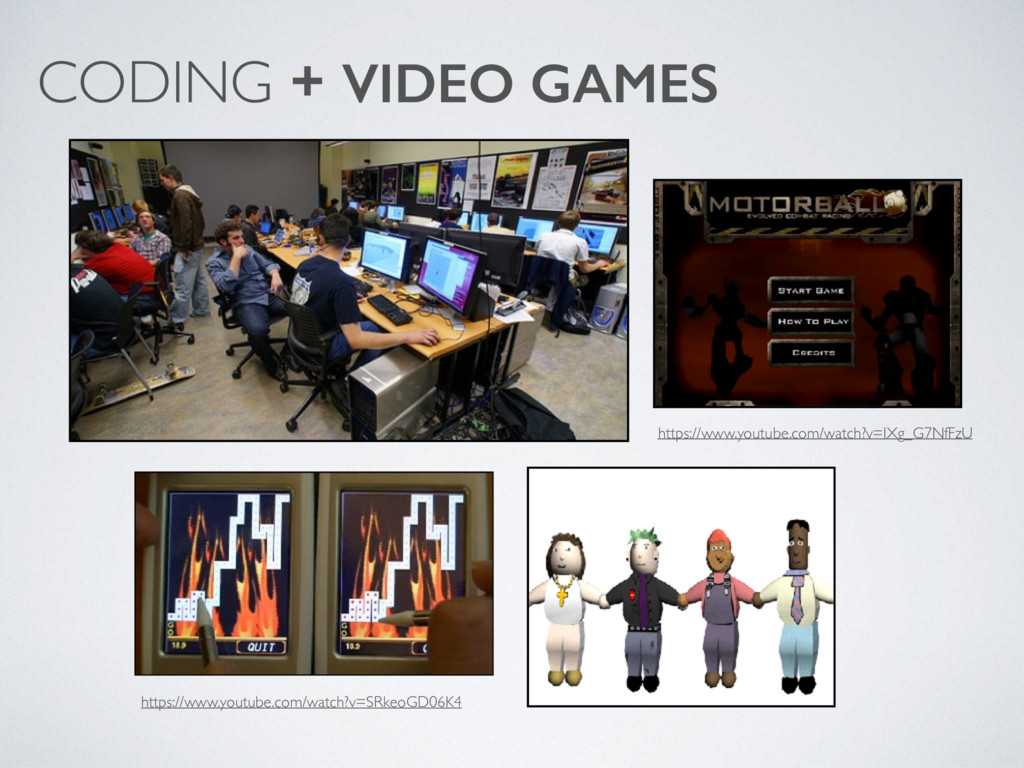 CODING + VIDEO GAMES https://www.youtube.com/wa...