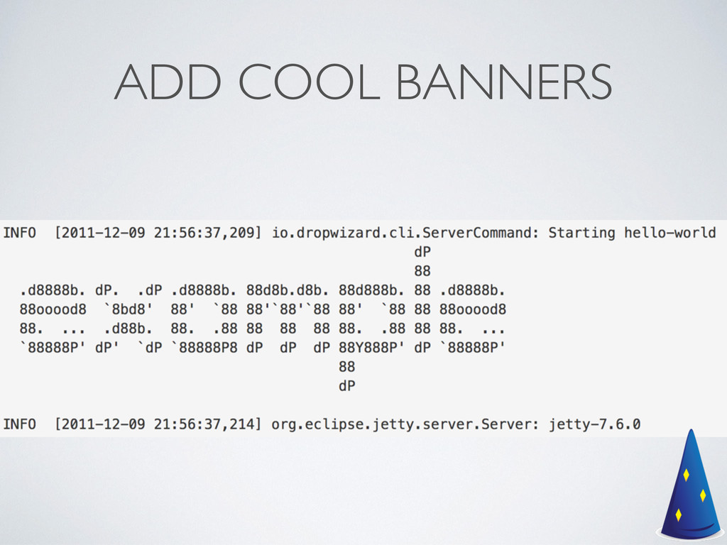 ADD COOL BANNERS