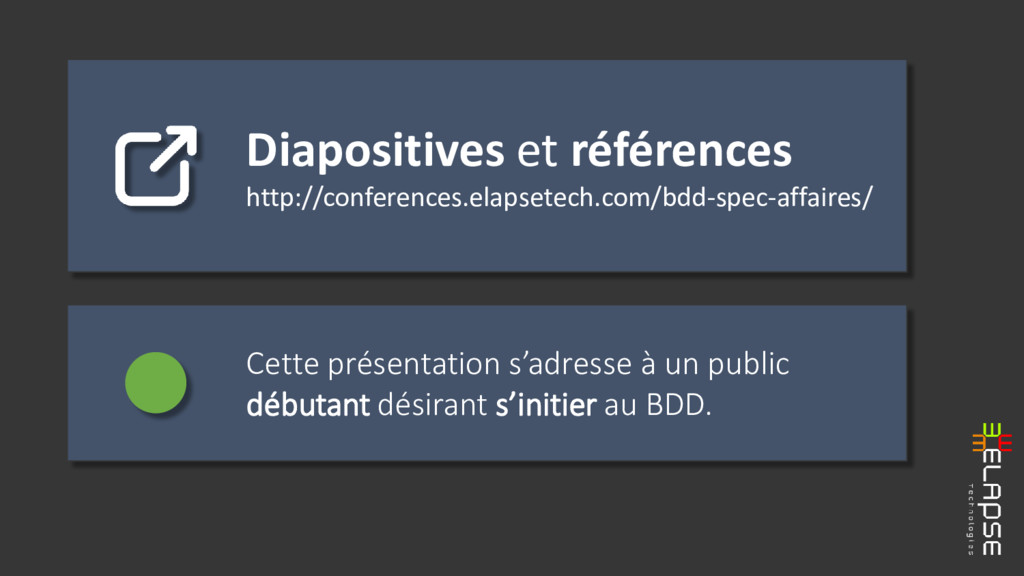 Diapositives et références http://conferences.e...