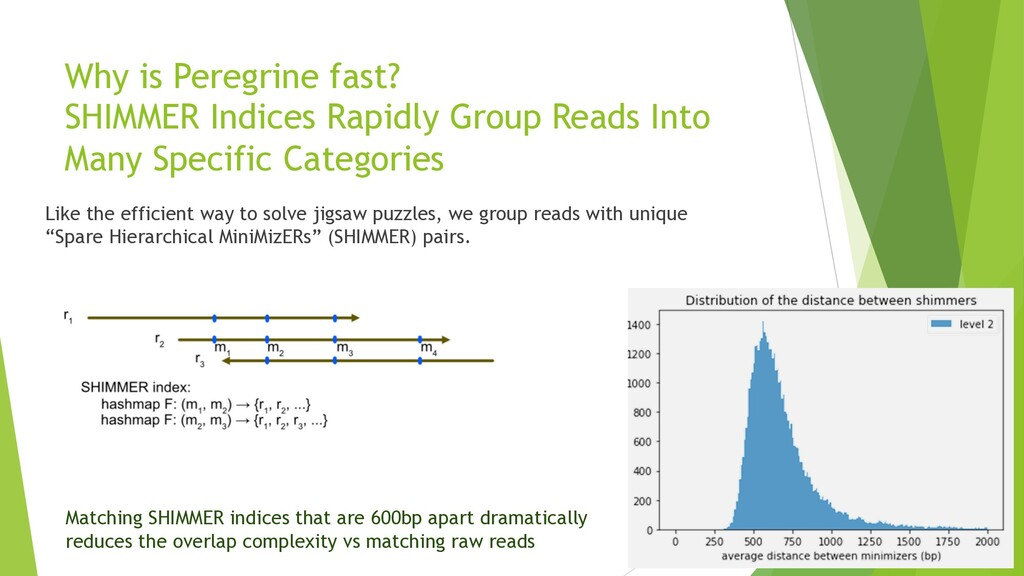 Why is Peregrine fast? SHIMMER Indices Rapidly ...