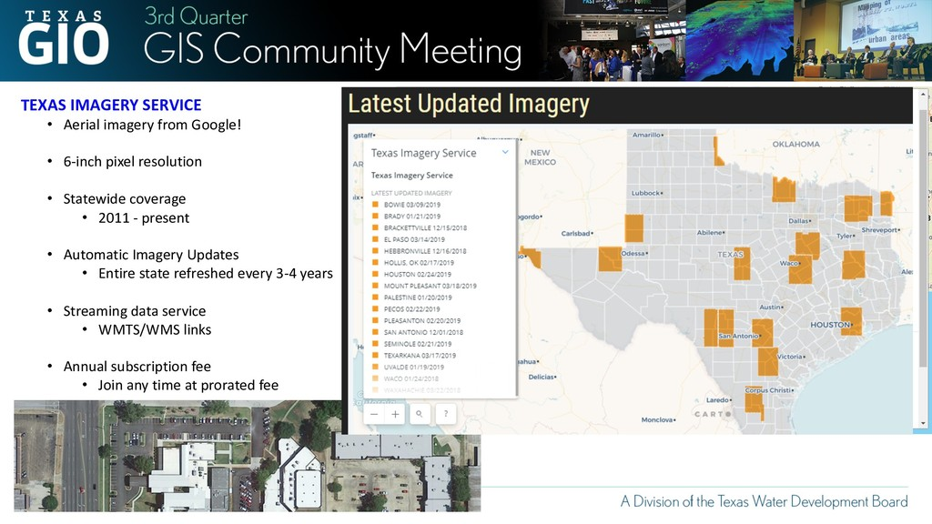 TEXAS IMAGERY SERVICE • Aerial imagery from Goo...