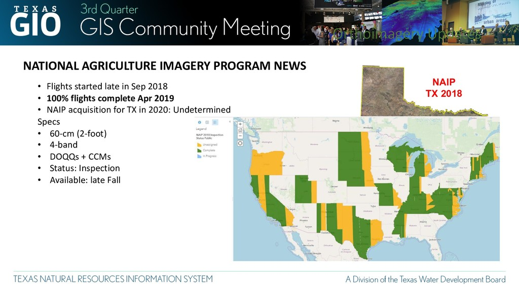 NAIP TX 2018 NATIONAL AGRICULTURE IMAGERY PROGR...