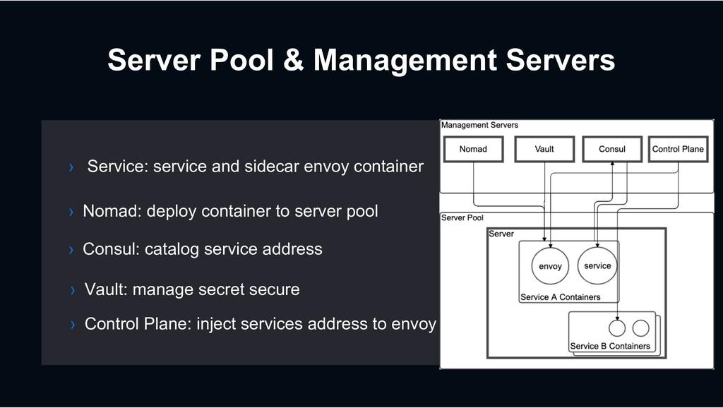 Server Pool & Management Servers › Nomad: deplo...