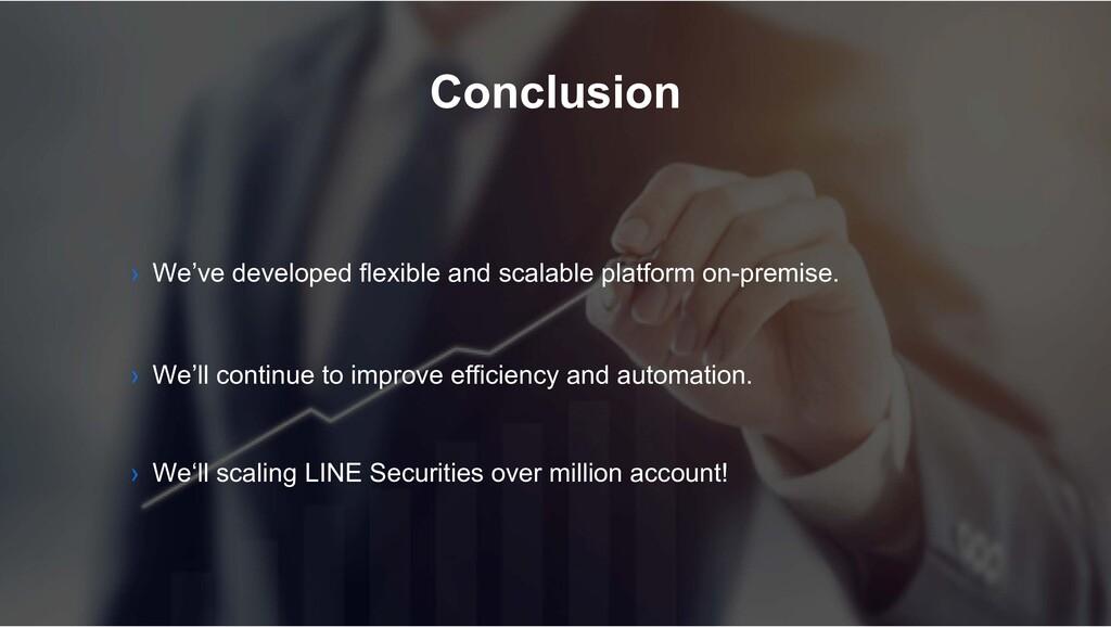 Conclusion › We'll continue to improve efficien...
