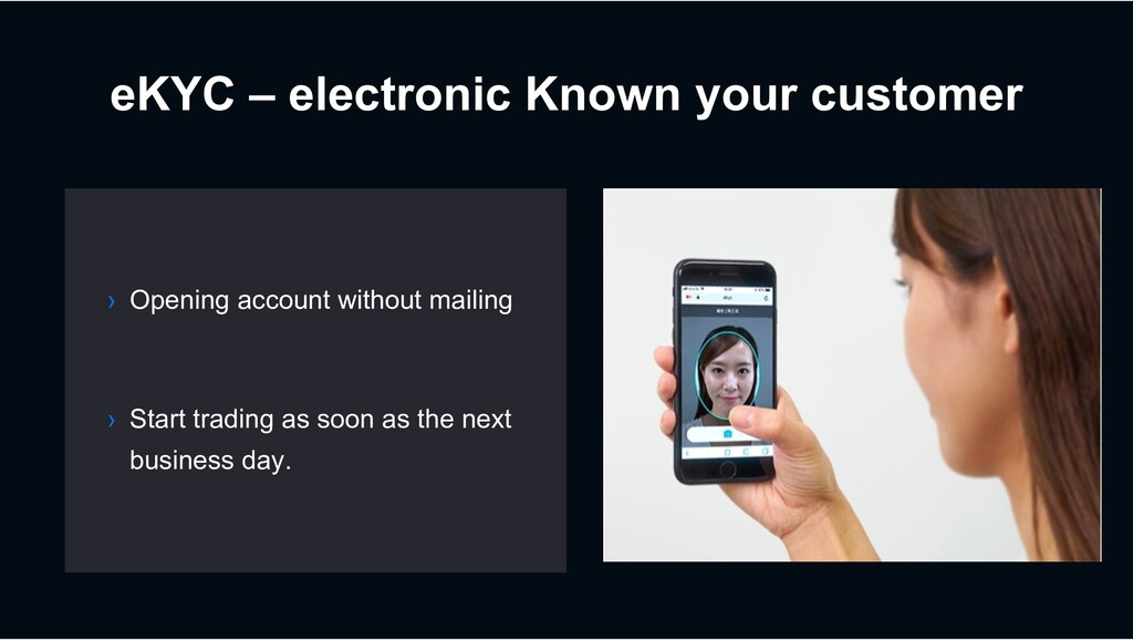 eKYC – electronic Known your customer › Opening...