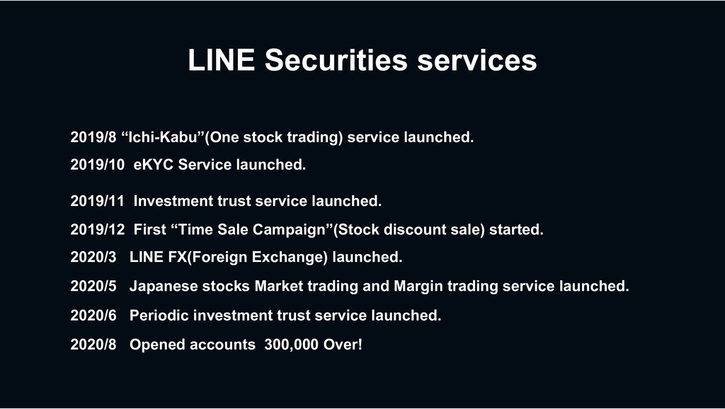 "LINE Securities services 2019/8 ""Ichi-Kabu""(One..."