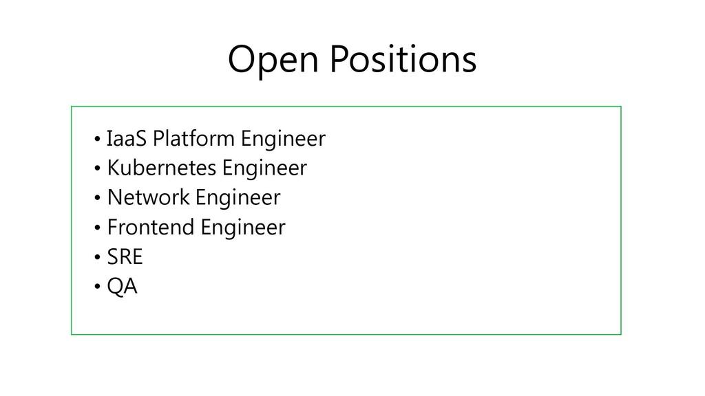 • IaaS Platform Engineer • Kubernetes Engineer ...