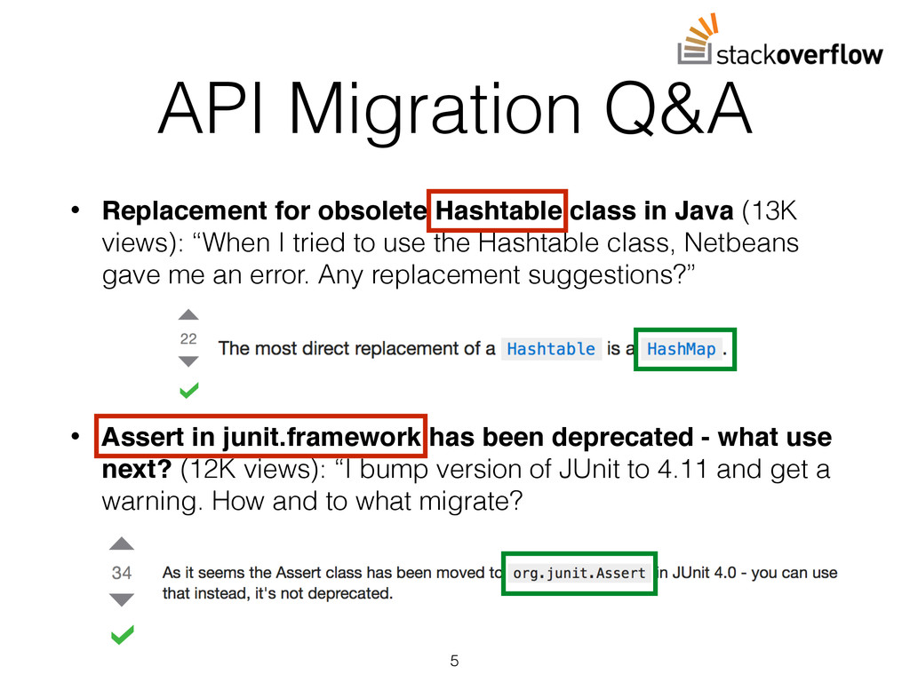 API Migration Q&A • Replacement for obsolete Ha...