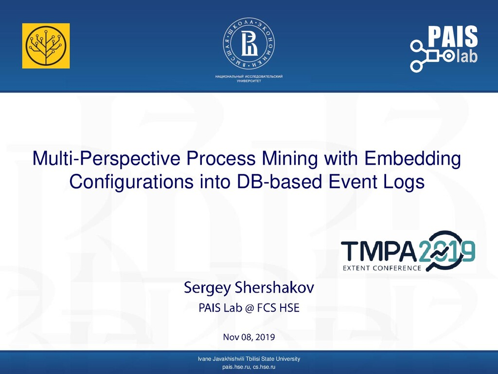 Multi-Perspective Process Mining with Embedding...
