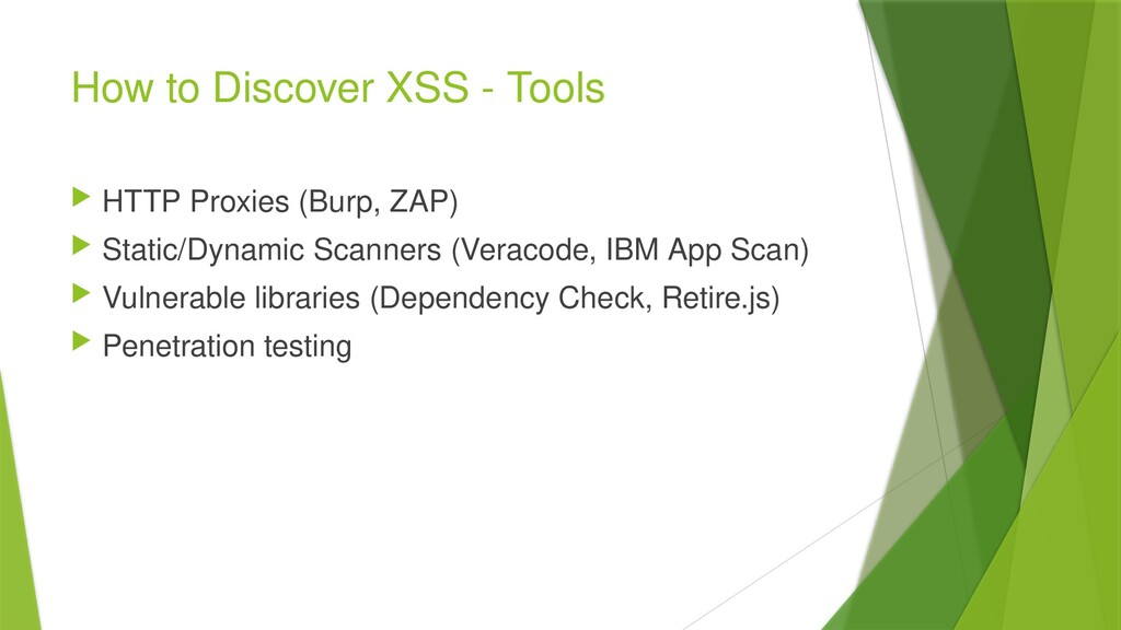 How to Discover XSS - Tools  HTTP Proxies (Bur...