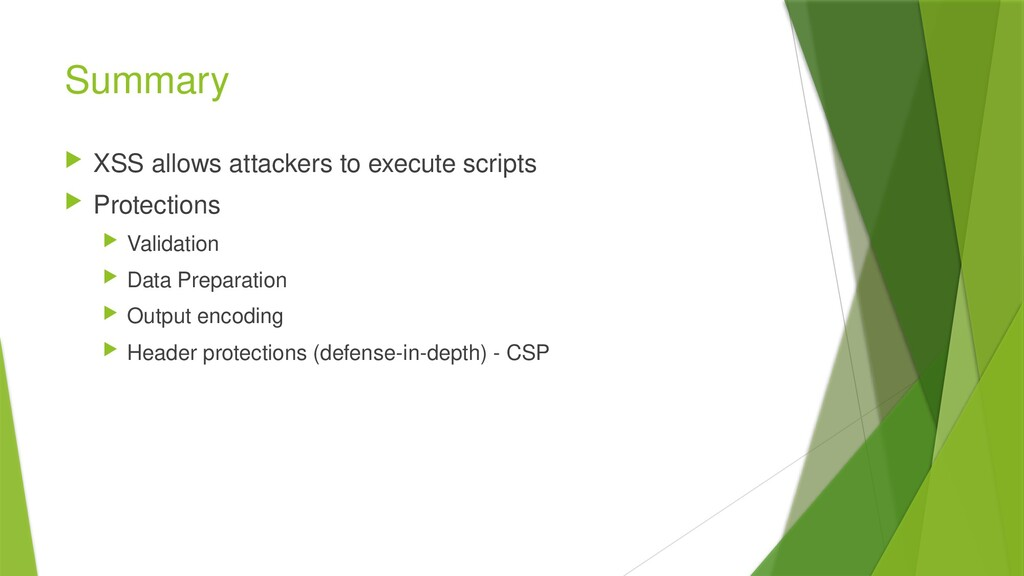 Summary  XSS allows attackers to execute scrip...