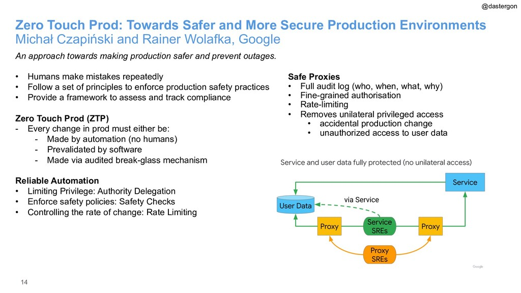 14 Zero Touch Prod: Towards Safer and More Secu...