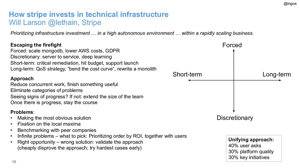 16 How stripe invests in technical infrastructu...
