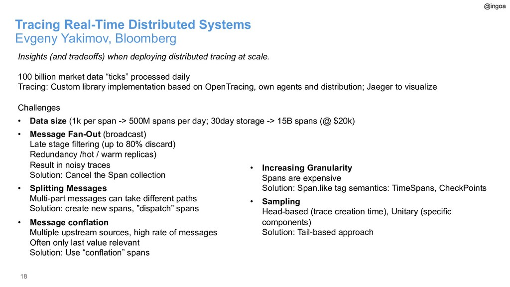 18 Tracing Real-Time Distributed Systems Evgeny...