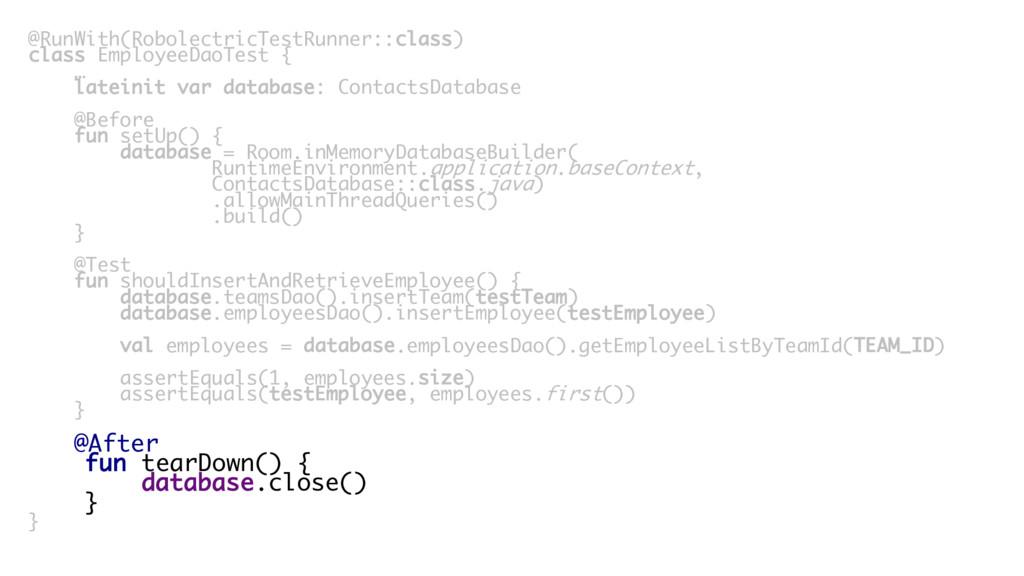 @RunWith(RobolectricTestRunner::class) class Em...