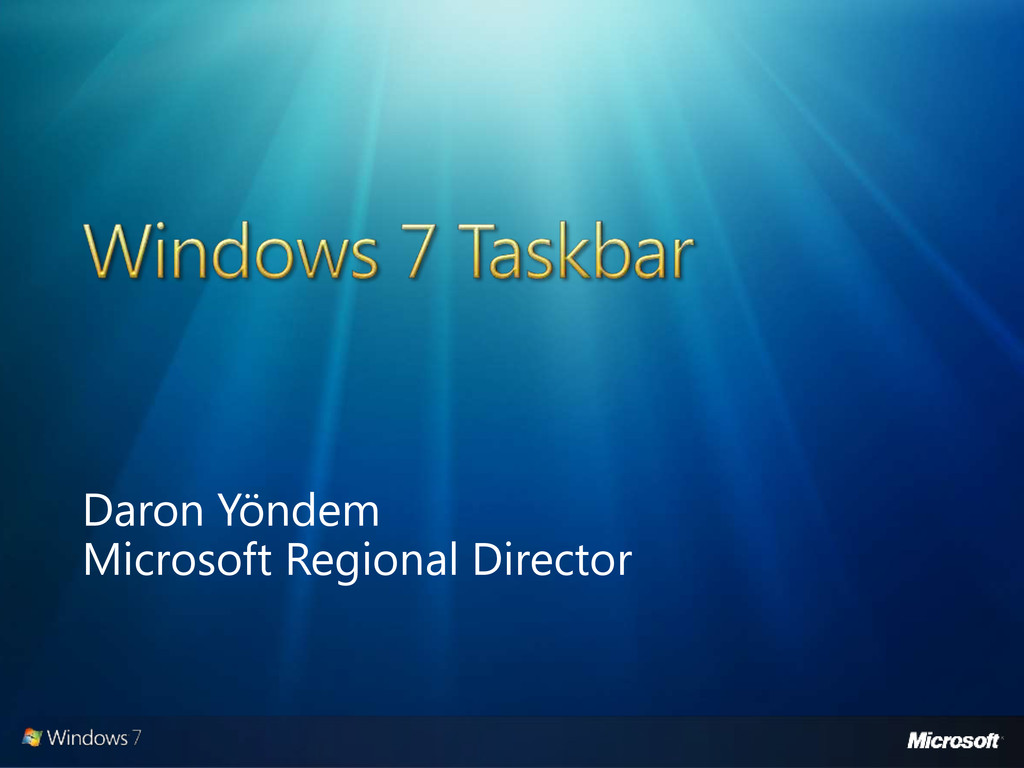 Daron Yöndem Microsoft Regional Director