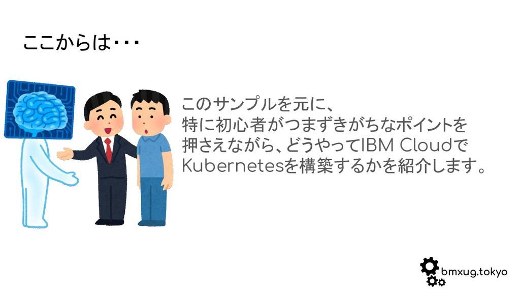 bmxug.tokyo ここからは・・・ このサンプルを元に、 特に初心者がつまずきがちなポイ...