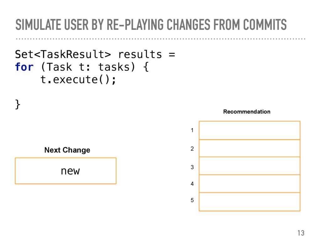 Set<TaskResult>  Set<TaskResult> results = ...