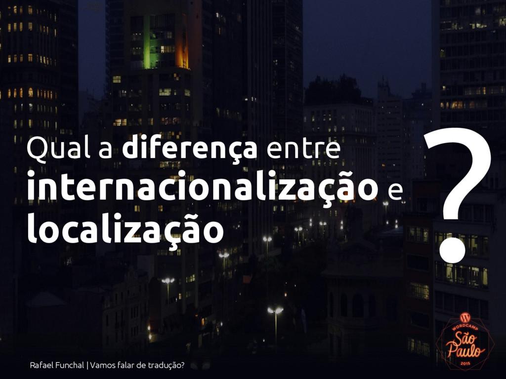 Rafael Funchal | Vamos falar de tradução? Qual ...