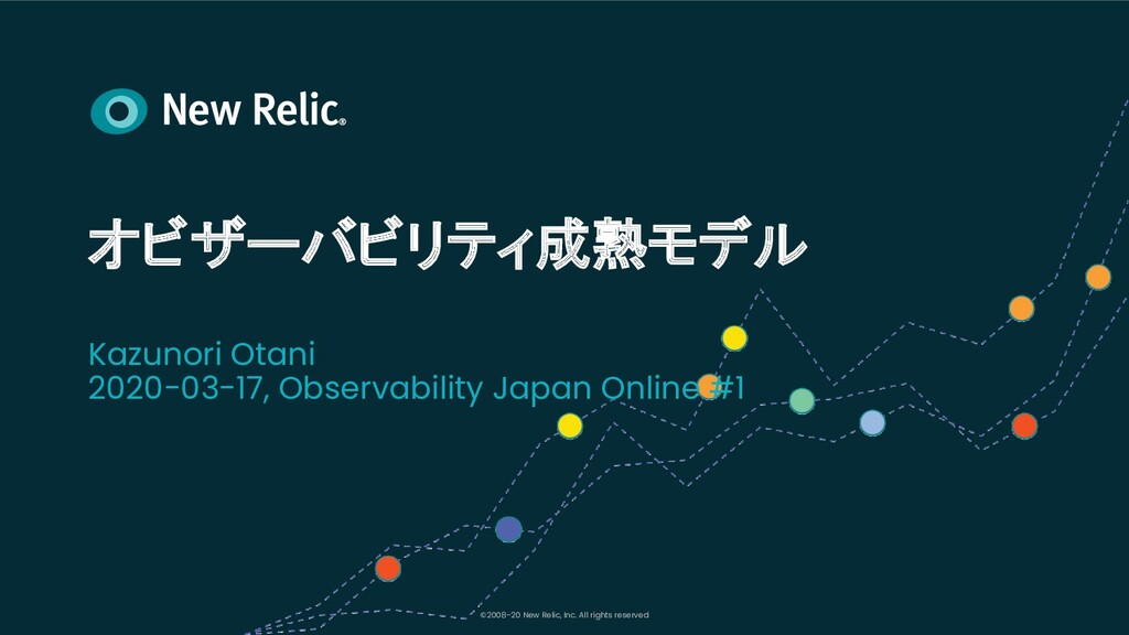 ©2008–20 New Relic, Inc. All rights reserved オビ...